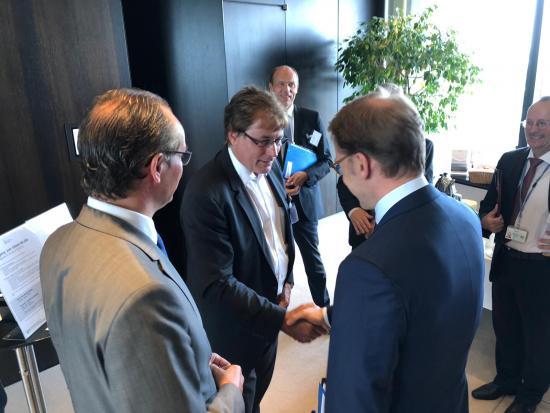 Besuch bei der Deutschen Bundesbank in Frankfurt