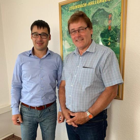 Markus Böttcher und Gerald Ullrich